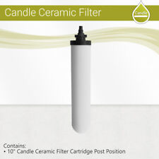 "9"" Ceramic Gravity Candle Purifier Replacement Water Filter Sterasyl Inlet 1/4"""