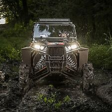 Polaris RZR Double wide XL Front Fender Flares mudflaps extensions 2015+ NEW