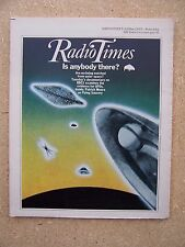 Radio Times/1977/UFOs/Patrick Moore/Badgers/Eurovision Song Contest/Colin Watson
