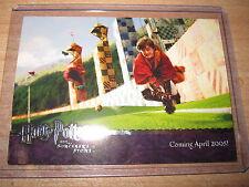 HARRY POTTER ST MINT SORCERE'S STONE PROMO CARD 04 SILVER RARE MINT ARTBOX 2005