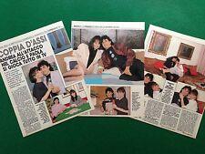 CC176 Clipping Ritaglio (1989) 27x20 cm - ANDREA CARNEVALE e PAOLA PEREGO