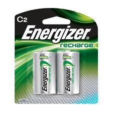 Energizer NH35BP-2 C 2200 mAh Rechargeable Batteries 2 Pack