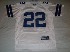 Emmitt Smith 22 Dallas Cowboys NFL Blue Reebok Jersey Boy s Medium 10 12  used 0161eb979
