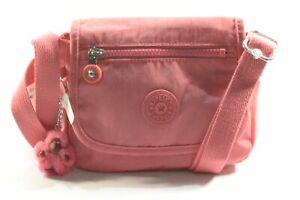 Kipling AC8280 6CD Sabian Desert Rose Nylon Mini Crossbody Bag