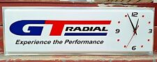 GT Radial Tires Experience the Performance Double Sided Lighted Clock Sign Works