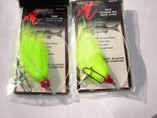 TIED TEASER RIG'S > 2 PACK > HOOK SIZE 4/0 & 60 LB. MONO >> COLOR > (chart.) *