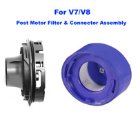 Upgraded - Post Motor Hepa Filter & Rear Cover For Dyson V7 V8 Cordless Vacuum
