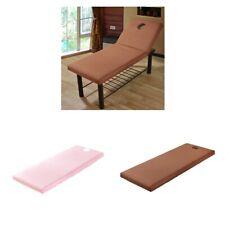 2pcs Drap Housse de Protection Table de Massage Couverture en Coton Doux