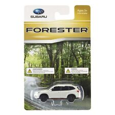 Official Genuine Subaru Forester Sport 1/64 Die Cast Toy Car WHITE New OEM