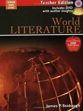 The Broadman and Holman Literature: World Literature by James Stobaugh (2005, Pa