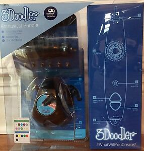 3Doodler Enthusiast Bundle with ABS Plastic Sticks & Stand