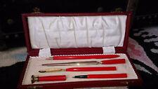 Art Deco Red Bakelite Writing Set in Box