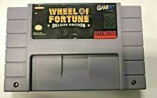 Super Nintendo SNS-XF-USA WHEEL OF FORTUNE Deluxe Edition Tested, 1991-1992 SNS6
