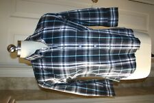 Burberry Navy Nova Check Shirt sz small NWOT