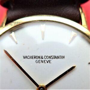 mechanische Vacheron & Constantin HERREN ARMBANDUHR, Gold-18 K, gute Funktion