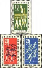 DDR 963-965 (édition complète) neuf 1963 sportive