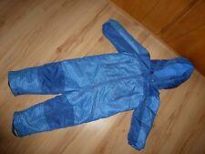 Schneeanzug Skianzug Junge Größe 98 / 104 blau Einteiler