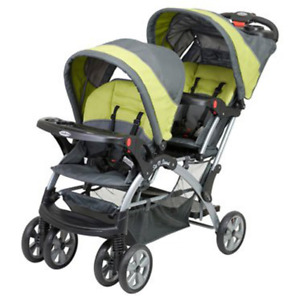Baby Trend Sit N Stand Double Stroller, Carbon SS76710