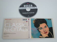 MARILYN HORNE/RECITAL(DECCA CLASSIC RECITALS 475 395-2) CD ALBUM