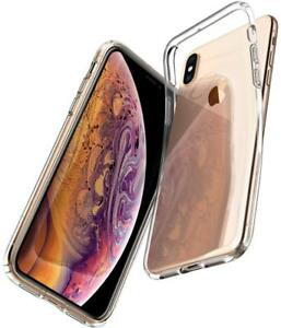 For Apple iPhone X / Xs 10 Ultra Thin Clear See Through Soft Gel back Case Cover
