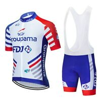 Maillot / Cuissard Groupama FDJ 2020 Ensemble équipe cyclisme Pro été vélo H