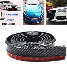 Car SUV Front Bumper Carbon Fiber Protector pad Rubber Lip Splitter Body Spoiler