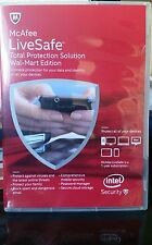 McAfee Antivirus LiveSafe Total Protection Solution Sealed Pack