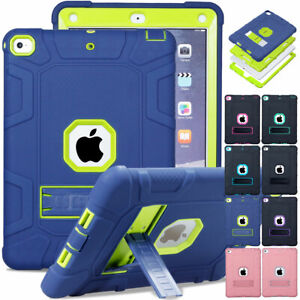 For Apple iPad 5th 6th Gen 2018 9.7 Heavy Duty Shockproof Rugged Hard Case Cover