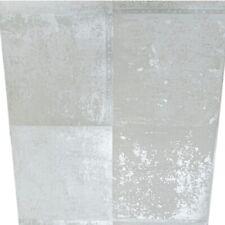 Holden Crema Metallico Grigio Silver Plain cemento Effetto Pietra Carta Da Parati Caratteristica