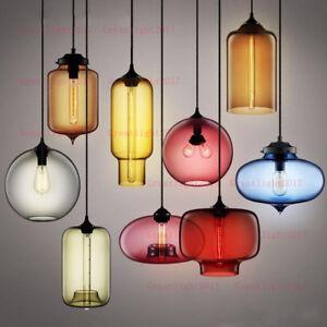 Retro Vintage Glass Ceiling Lamp Chandelier Lighting Fixture Pendant Light