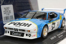 FLY A1305 BMW M1 PROCAR SERIES 1980 POOH JEANS NEW 1/32 SLOT CAR IN DISPLAY CASE