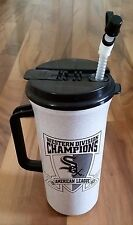Chicago White Sox 1993 Western Baseball Division Champions Water Bottle w/Straw.