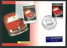 Quattroruote + Alfa Romeo Giulietta - Cartolina Ufficiale Poste Italiane - 2006