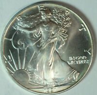 1991 American Silver Eagle - One Troy Ounce .999 Pure - UNC SE1