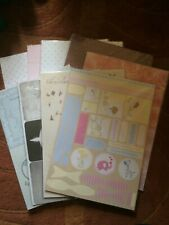 ASSORTED BACKING CARDS, PAPERS AND TOPPERS