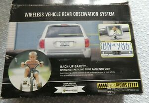 Wireless Vehicle Rear Observation System For Backing Up