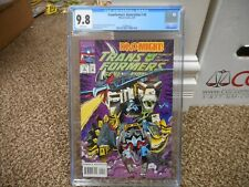 Transformers Generation 2 #4 cgc 9.8 Marvel 1994 NM MINT WHITE pg Dinobots cover