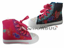 Canvas Upper Boots Laces Shoes for Girls