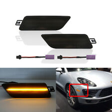 For Porsche Macan 2015-2018 Smoked Amber Led Side Marker Lights CANbus Indicator