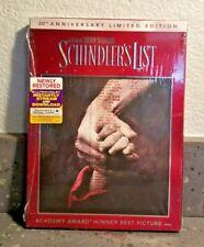Schindler's List (Dvd + Digital w/Slipcover) 20th Anniversary Edition Brand New
