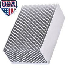 Aluminum Heat sink 100 x 69 x 36mm - Heatsink Radiator Heat Sink Replacement US