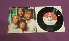Abba Gimme! The King has lost his Crown press 1979 45 giri usato Japan