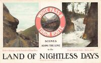 Postcard White Pass & Yukon Route Atlin, British Columbia, Canada~129675