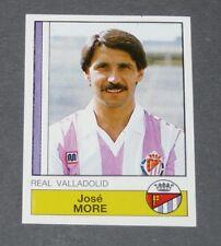 314 MORE REAL VALLADOLID PANINI LIGA FUTBOL 87 ESPAÑA 1986-1987 FOOTBALL
