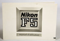 Nikon F5 Instruction Manual features Shooting Modes, Programmed Auto and more EX