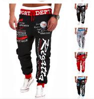 Mens Stylish Jogger Sportwear Baggy Harem Pants Slacks Trousers Sport Sweatpants