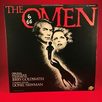 JERRY GOLDSMITH The Omen Original Motion Picture Soundtrack 1976 USA Vinyl LP EX