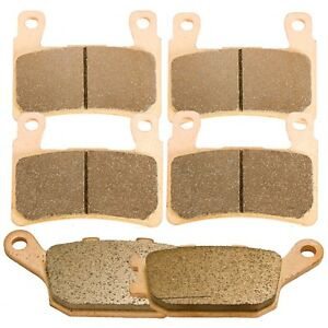 SINTERED HH CERAMIC FRONT /& REAR BRAKE PADS For HONDA CBR 600-F F6 2006 CBR600F