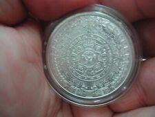 Golden State Mint Aztec Calendar 1 oz 999 Silver Round Coin Mayan. *