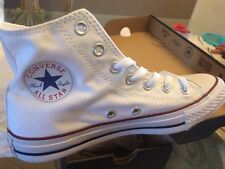 CONVERSE CHUCK TAYLOR ALL STAR HI M7650 OPTICAL WHITE Size 6
